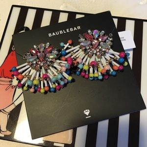 Bauble Bar Fringe Earrings